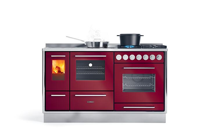 Piastra Cucina A Legna.Moderna 150 Lge J Corradi